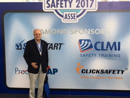 Richard Knowles presenting at the American Society for Safety Engineers